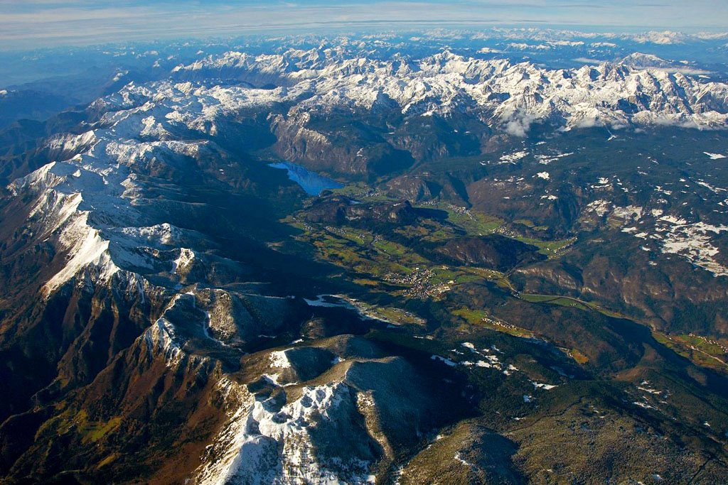 Bohinj from above
